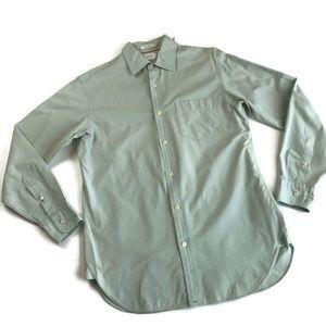 J. Crew 2-Ply Men's Small Button Down Dress Shirt